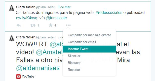 herramientas blog twitter