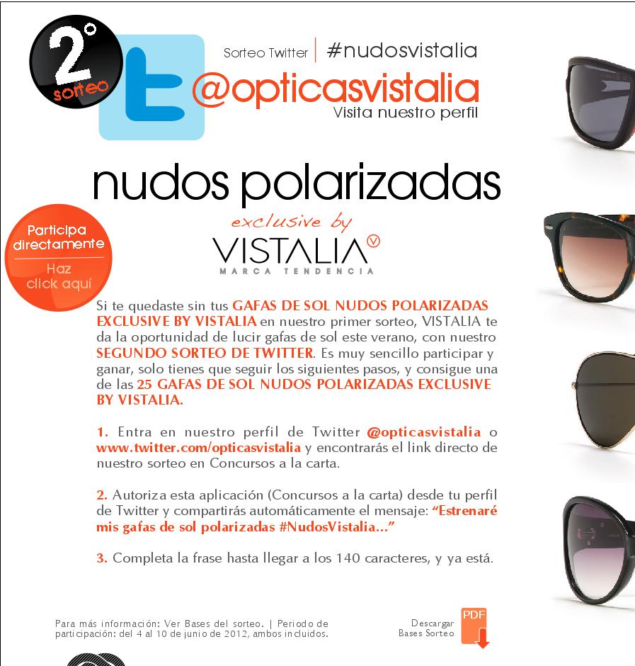 redes sociales y salud opticas Vistalia
